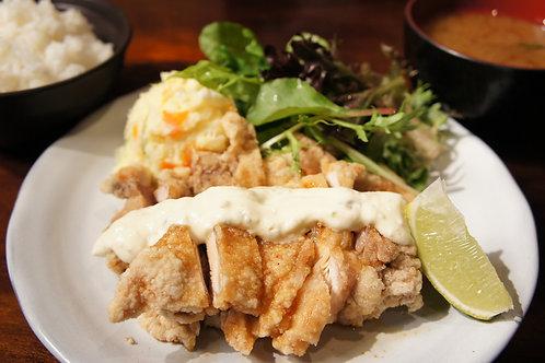 Chicken Namban Plate (Rice, Miso soup)