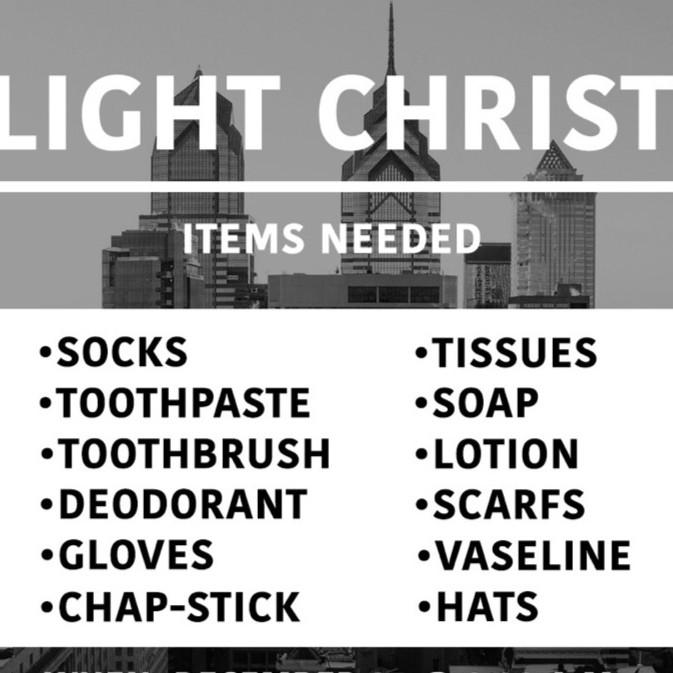 CityLight Christmas Outreach 2021