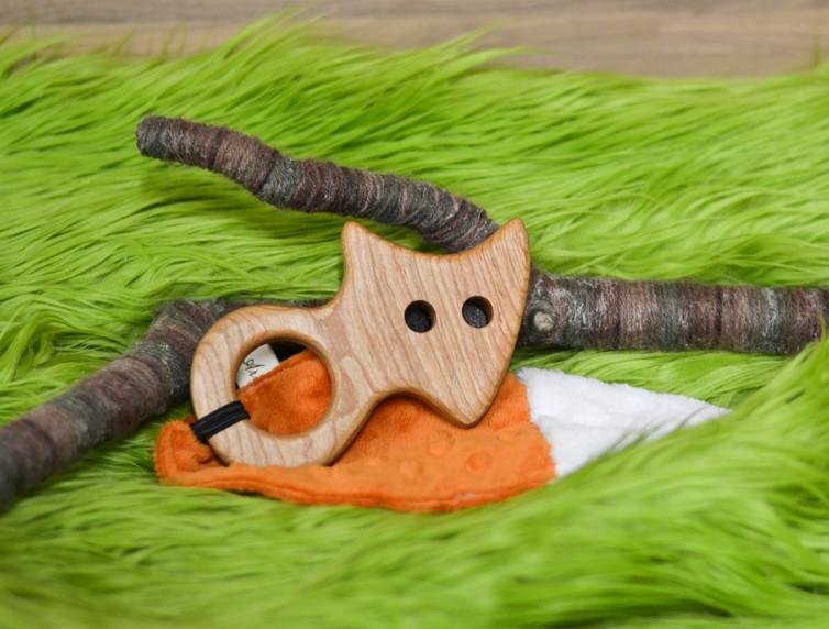 Wood Fox Teether