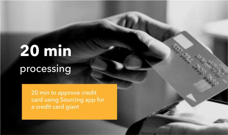 20 min processing for credit card