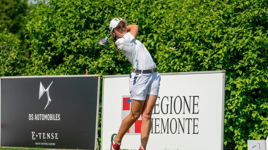 Ladies Italian Open: Malchirand resta da sola in testa, Melgrati è 5/a e sogna l'impresa