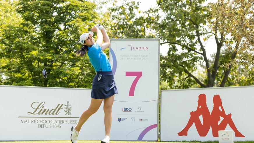 Ladies Italian Open: grande inizio per la Nobilio, terza dopo il 1° round