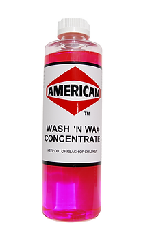 Wash & Wax Concentrate Pint