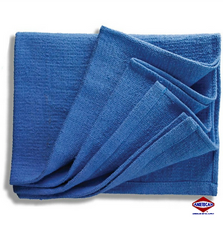 New Blue Huck Towels