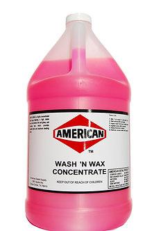Wash & Wax Concentrate Gallon
