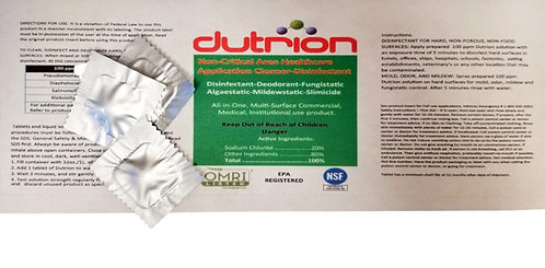 dutrion disinfecting tablets