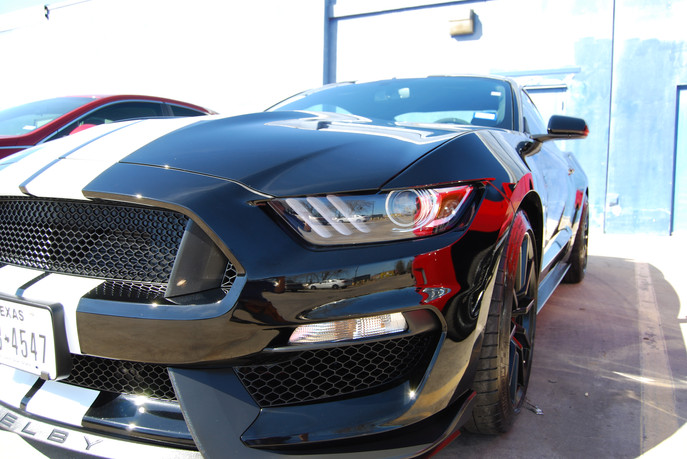 Ford Mustang Shelby American Car Detaili