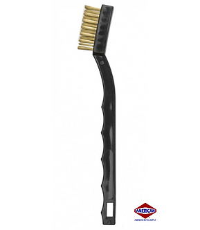 Auto Detailing Stainless Toothbrush Style Brush