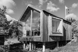 Arkitekt tegnet hytte