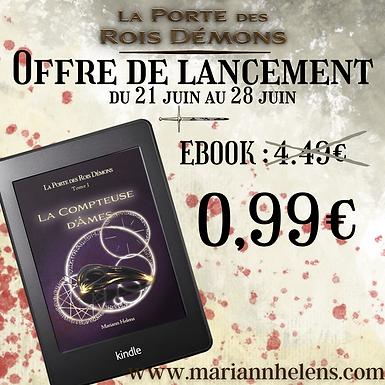 La Compteuse d'Âmes : Parution et Promo eBook !