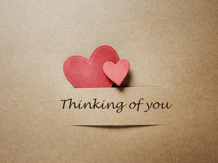 Thinking of You as I Go Through