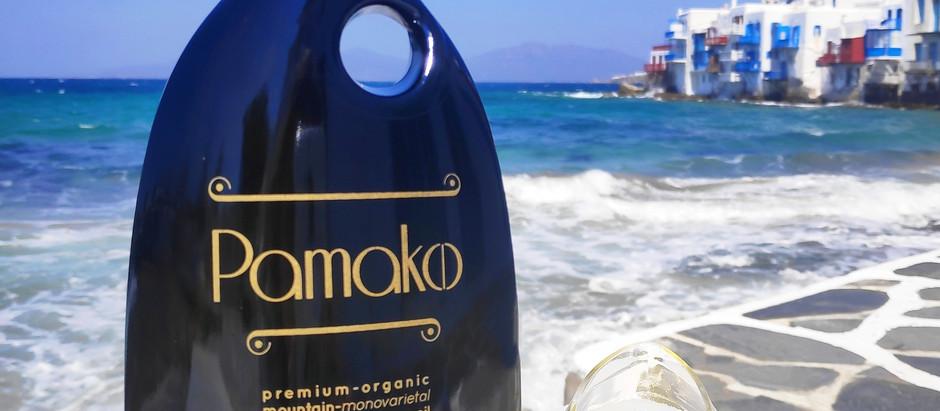 Pamako Extra Virgin Olive Oil var. Tsounati