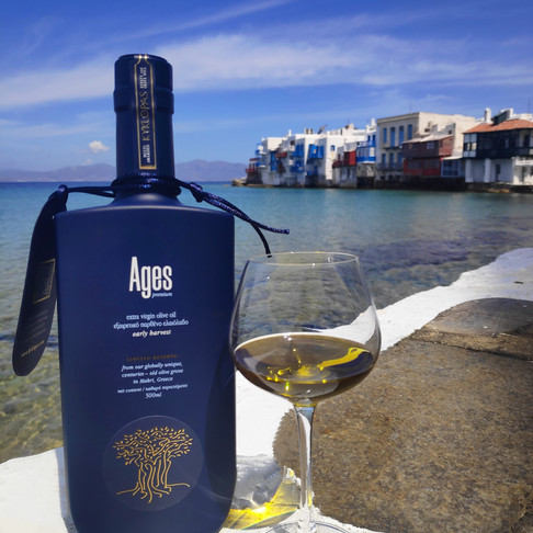 Discover the taste of Eterniny, discover Ages EVOO