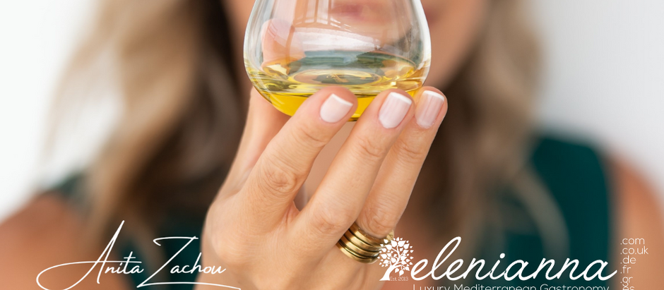 Anita Zachou & Elenianna.com join forces to introduce Greek Extra Virgin Olive Oil Worldwide