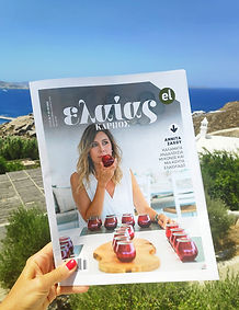 From Mykonos to every cornerof the earth, the ambassadors of Greek olive oil