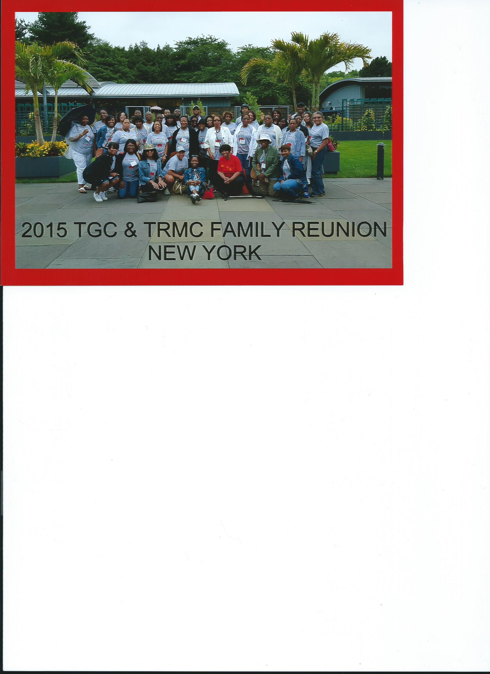 TGC TRMC Family Reunion 2015