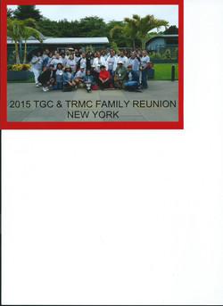 TGC TRMC Family Reunion 2015