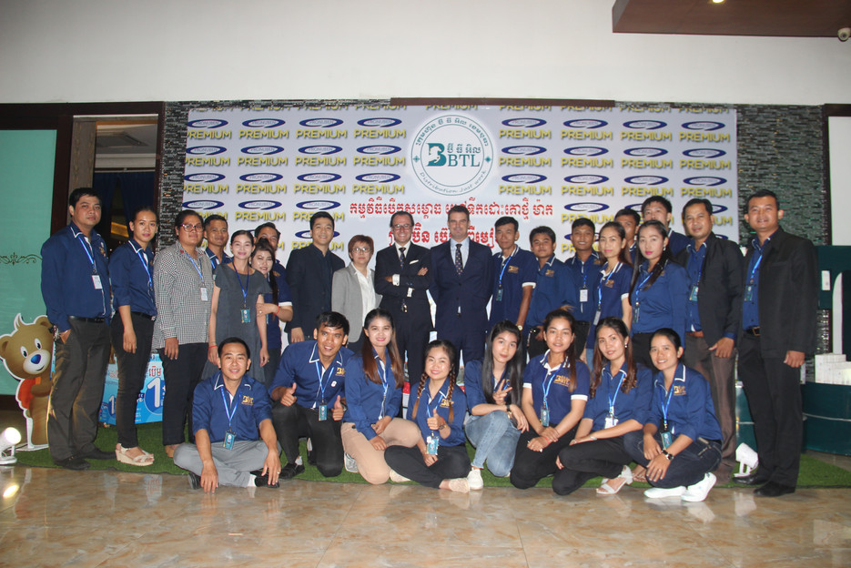 LAUNCH w/ CAMBODIAN TEAM