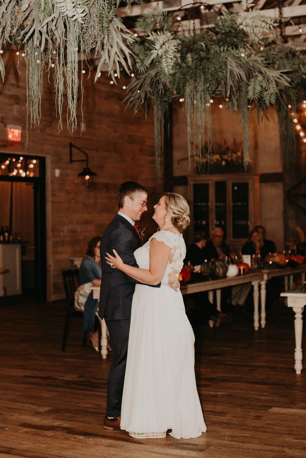 first dance at wedding at Terrain