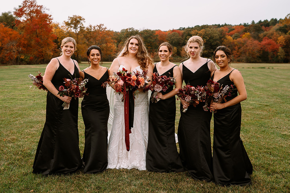 fall wedding floral bouquets