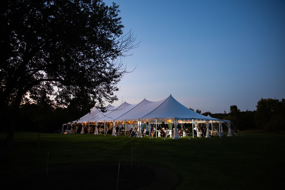 The Inn at Barley Sheaf Farm tent