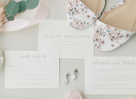 Real Weddings: Lauren & Evan's Soft, Summer Celebration
