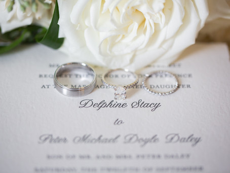 Delphine & Peter's French Country Inspired Wedding at The Inn at Barley Sheaf