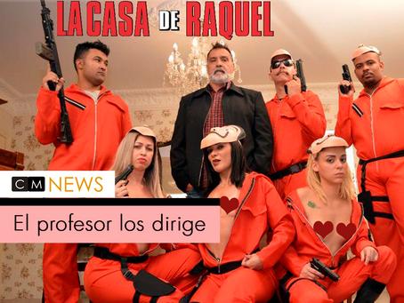 'La Casa de Raquel', la versión porno de 'La Casa de Papel'.