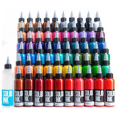 SOLID INK -- 60 COLORS SET