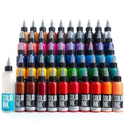 SOLID INK -- 50 COLORS SET