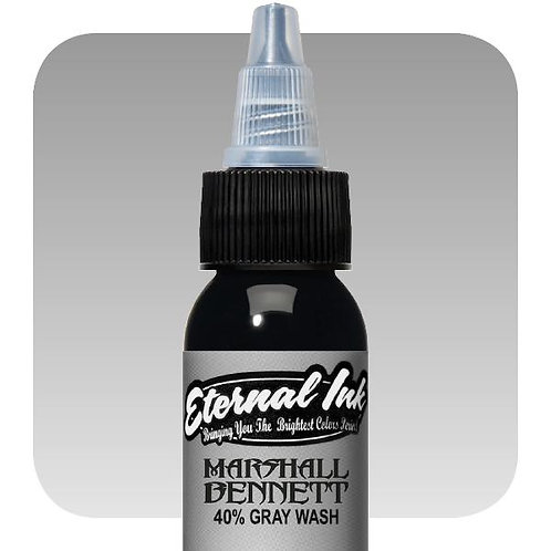 Eternal Ink MBG40  Marshall Bennett 40% Gray Wash