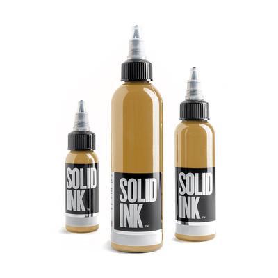 SOLID INK -- OCHRE