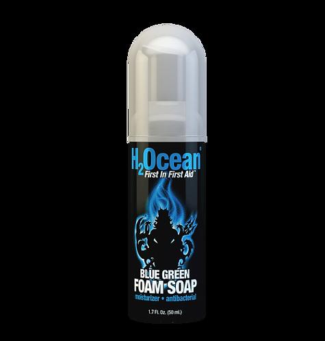 1.7oz Blue Green Foam Soap