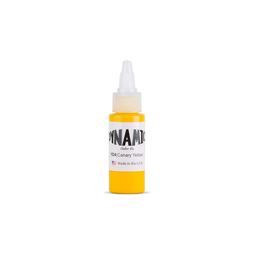 Canary Yellow Tattoo Ink - 1 oz. Bottle