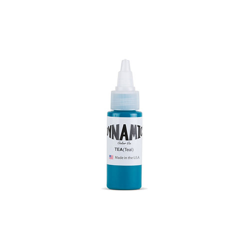 Teal Tattoo Ink - 1 oz. Bottle