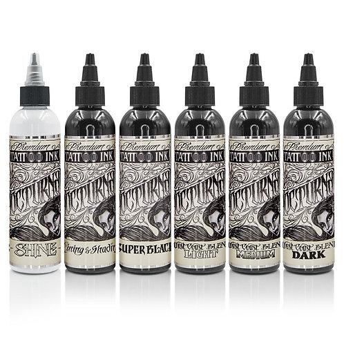 Nocturnal Tattoo Ink - Full Set of 6 Bottles