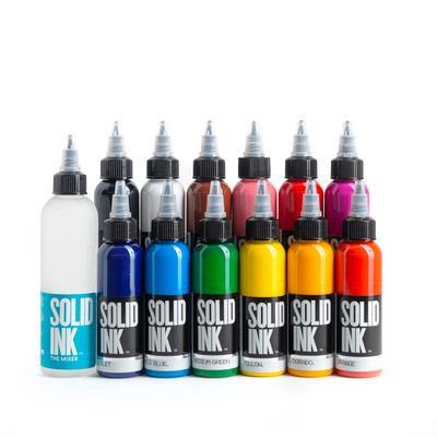 SOLID INK -- 12 COLOR SET