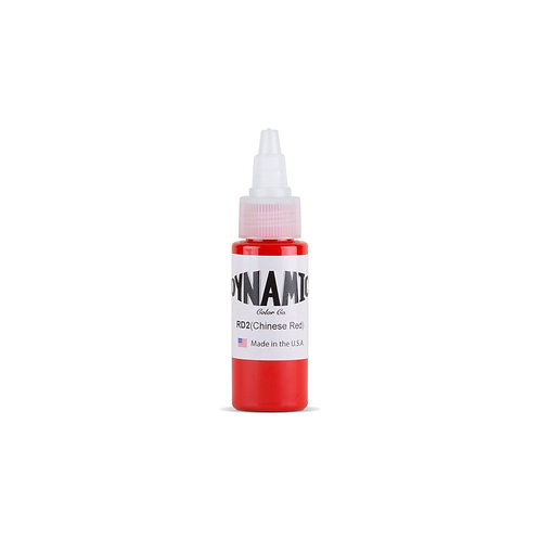 Chinese Red Tattoo Ink - 1 oz. Bottle