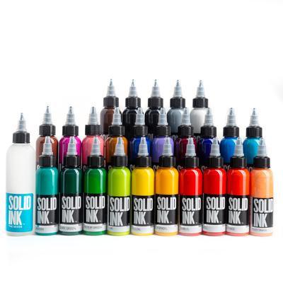 SOLID INK -- 25 COLORS SET
