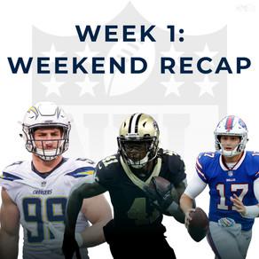 NFL Week 1 Recap