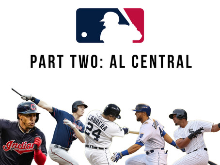 2020 MLB Predictions Part Two: A.L. Central