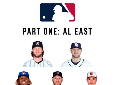 2020 MLB Season Predictions Part One : A.L. East