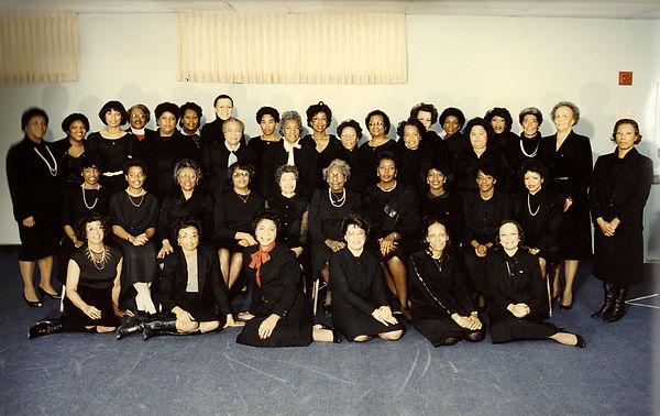 1982 Chapter Photo Gladys Vaughn Preside