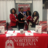 Scholarship Committee Sorors at the Alfr