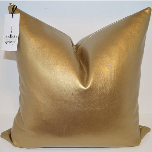 Faux Gold Leather