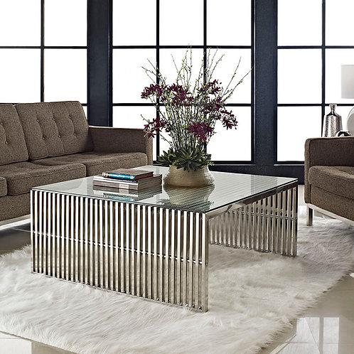 CoffeeTable in Silver