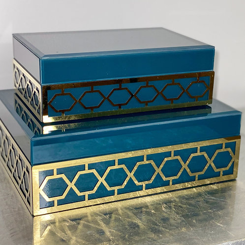 Real Teal and Gold Box Set