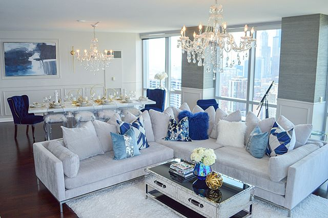 Happy Monday! Swipe for more! I'm so excited to reveal our grand penthouse project. Transforming thi