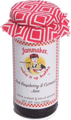 Red Raspberry & Currant Jam