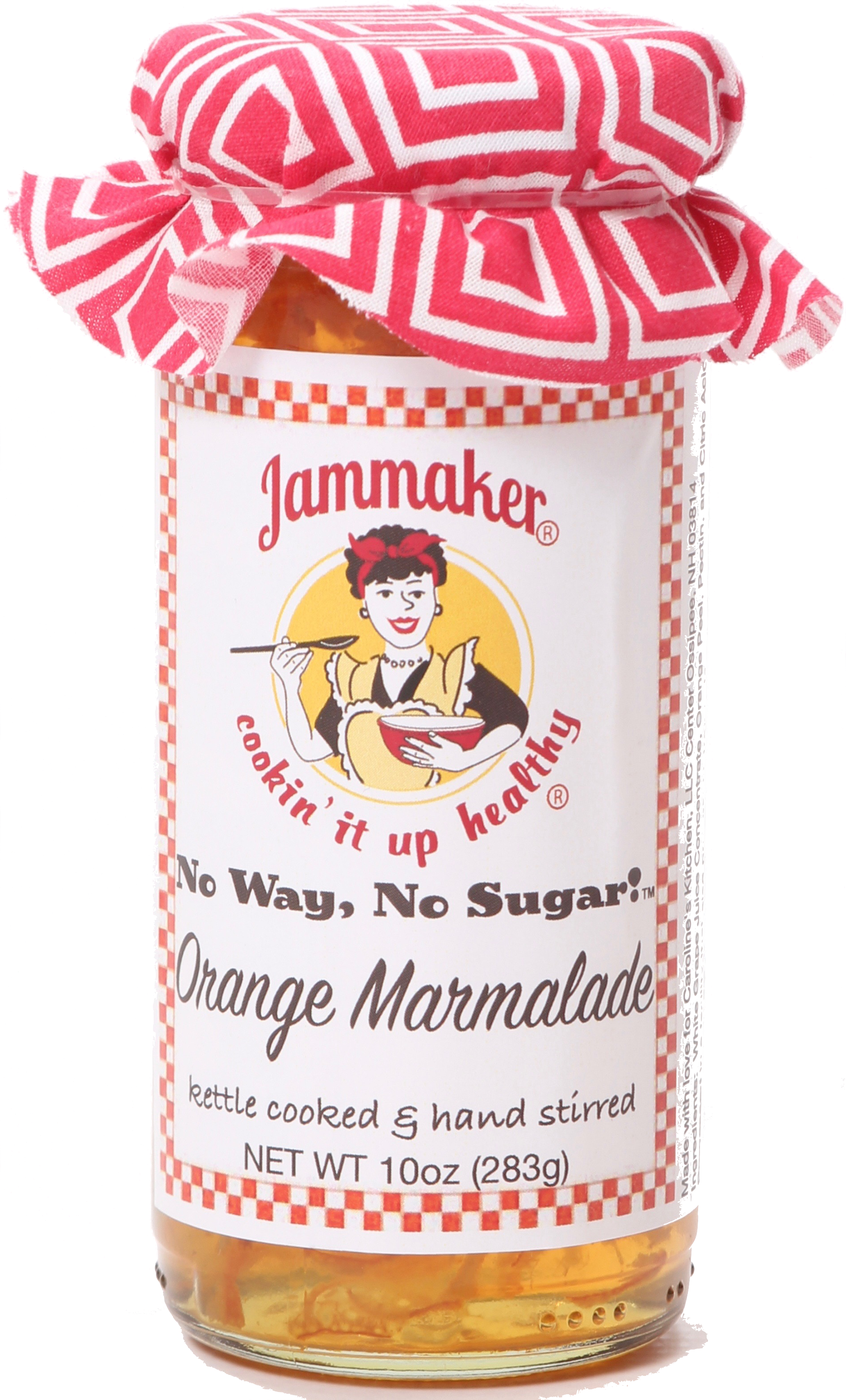 No Way, No Sugar! Orange Marmalade